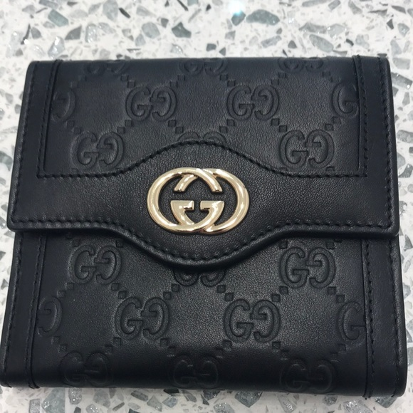 ae2866c579a3ee Gucci Bags | Brand New Authentic Icon Signature Wallet | Poshmark